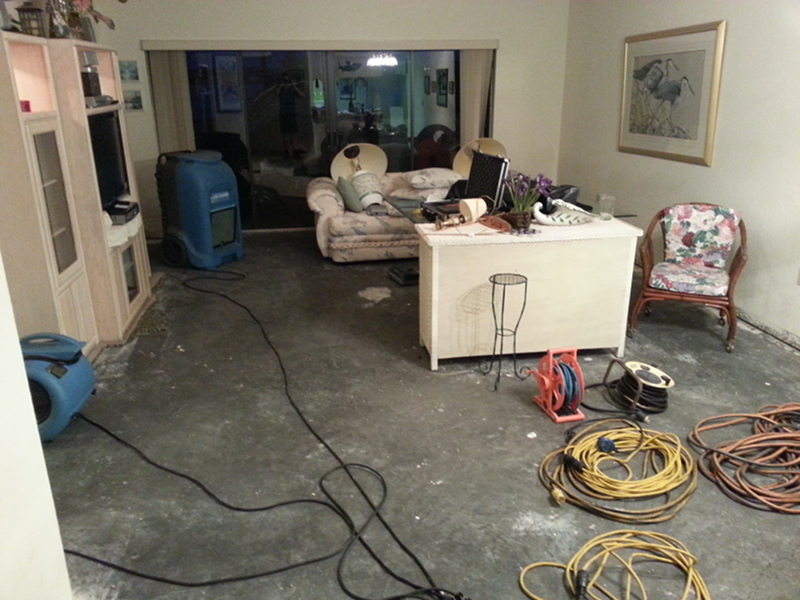 Water Damage - Floor Restore & More - Winter Haven, FL