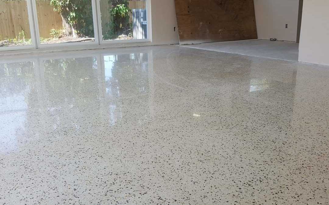 Floor Restore & More: Lakeland Terrazzo Floor Damage Restoration